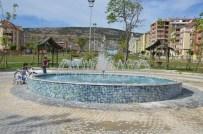 OSMANLI CAMİİ - Gençlik Parkı'na Yeni Havuz
