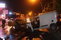 YUSUF SAĞLAM - Başkent'te İki Ayrı Kazada 7 Kişi Yaralandı