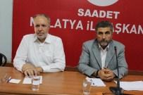 ETNİK MİLLİYETÇİLİK - Saadet Partisi Eylül Ayı İl Divan Toplantısını Yaptı