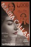 MASKELİ BALO - Samsun'da Maria Callas Konseri