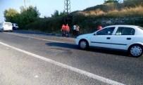 DAVUTLAR - Kuşadası'nda Trafik Kazası 1 Ölü, 3 Yaralı