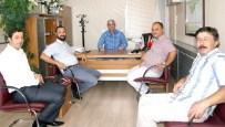 ÇEVRE İL MÜDÜRLÜĞÜ - Ayto'dan Efeler İmar Ve Şehircilik Müdürü Toyran'a Ziyaret