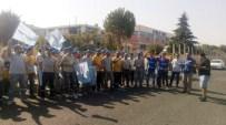 BOYA FABRİKASI - İşçiler Grev Yaptı, Fabrikada Üretim Durdu