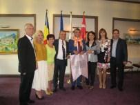 EBRU SANATı - Başkan Kayalı'dan Kardeş Şehir Sınaıa'ya Ziyaret
