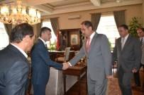 SıDKı ZEHIN - Vali Erdoğan Bektaş Personeliyle Bayramlaştı
