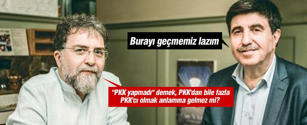 Altan Tan PKK'yı kınayamadı!