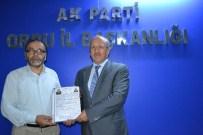 Gümrük Müsteşarı Sezai Uçarmak AK Parti'den Aday Adayı
