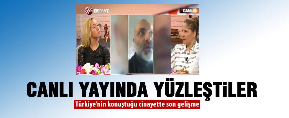 Vijdan Atasever ve katil zanlısının annesi canlı yayında yüzleşti