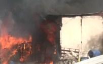 İstanbul'da Korkutan Yangın !