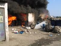 Mobilya İmalathanesinde Yangın