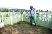 ALIFUATPAŞA - Sakarya'daki Mezarlıklar Bayrama Hazırlanıyor