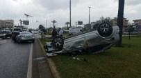 RUHİ AÇIKGÖZ - Manavgat'ta Trafik Kazası Açıklaması 4 Yaralı