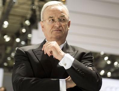 Volkswagen yöneticisi Martin Winterkorn istifa etti