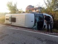 Emet'te Yolcu Minibüsü Devrildi Açıklaması 16 Yaralı
