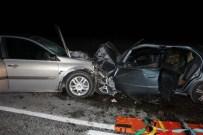 GALATA KÖPRÜSÜ - Tekirdağ´Da Feci Kaza Açıklaması 1 Ölü, 7 Yaralı