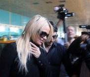 PAMELA ANDERSON - Oyuncu Pamela Anderson, Türkiye'ye Geldi