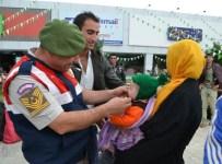 YENIMUHACIR - Suriyeli Sığınmacılara Geçit Yok