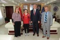 AHMET ARABACı - Başkan, Avrupa Şampiyonu İlknur Gedik'i Ödüllendirdi