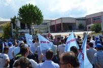 BOYA FABRİKASI - İzmir'de İşçiler Fabrika Önünde Direniş Çadırı Kurdu