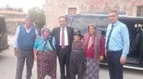 PAZARÖREN - AK Parti Kayseri Milletvekili Adayı Aslan Pınarbaşı'da