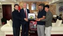 SELİM ERDOĞAN - Okçulardan Başkan Kamil Saraçoğlu'na Teşekkür Ziyareti