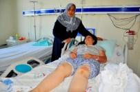 Koca Şiddetinden Kaçan Genç Kadın Balkondan Atladı