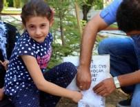 Şehit kızından babasına mektup