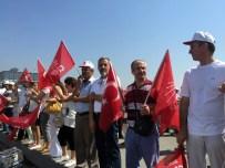GALATA KÖPRÜSÜ - CHP'den 'Barış Zinciri'