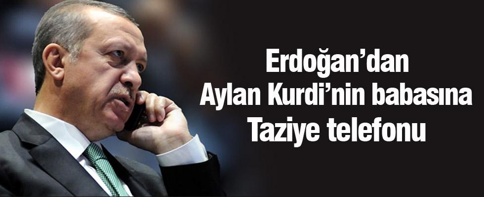 Erdoğan'dan Aylan Kurdi'nin babasına taziye telefonu