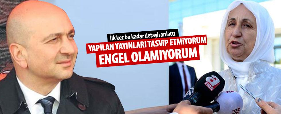 Melek İpek: Yapılan yayınları tasvip etmiyorum