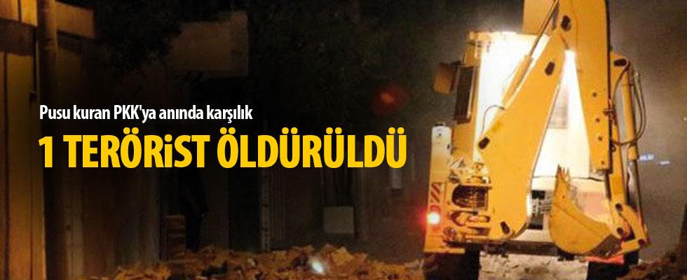 Pusu kuran PKK'ya anında karşılık: 1 ölü