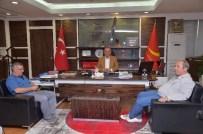 ÖMER DERECİ - Artvin Yusufeli Heyeti, Tahsin Babaş'ı Ziyaret Etti