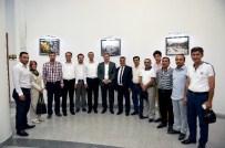 MESUT KARATAŞ - Malatya ASKON, Başkan Çakır'ı Ziyaret Etti