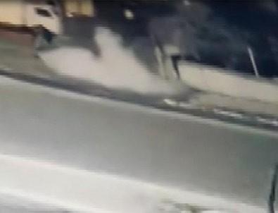 Polise atmak istediği patlayıcı elinde patladı