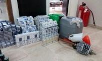 KAÇAK MAZOT - Derepazarı'nda Kaçak İçki Ve Sigara Ele Geçirildi