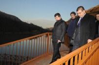 Doğu Karadeniz'in Denize En Yakın Gölü Olan Sera Gölü'nde Çalışmalar Sürüyor