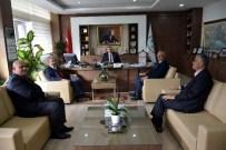 HALIL KOCAER - Kaş Belediye Başkanı'ndan DSİ'ye Ziyaret