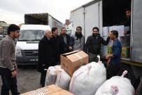 RAMAZAN AKSOY - Adıyamanlılar Vakfı, Adıyaman'da Ki Suriyelilere 2 Tır Dolusu Yardım Gönderdi