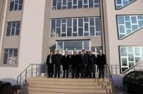 ALP ARSLAN - Rektör Şimşek Saray MYO Yeni Binasını İnceledi