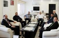 ALP ARSLAN - Rektör Şimşek'ten Saray Kaymakamı Arslan'a Ziyaret