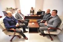 KAZıM ŞAHIN - Belediye Başkanı Huzurevini Ziyaret Etti