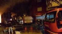 YANGIN FACİASI - Nusaybin'de tekstil deposunda yangın