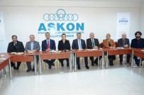 MESUT KARATAŞ - Öznur Çalık'tan ASKON'a Ziyaret