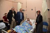 Başkan Üzülmez, Hasta Ziyaretlerine Devam Ediyor