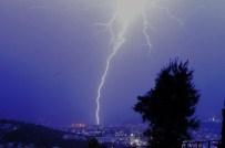 SU TAŞKINI - Bodrum'da Fırtına Sonrası Yağmur Etkili Oldu