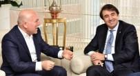 MUHARREM TOPRAK - Milletvekili Aydemir Ve Başkan Genç, Sekmen'i Ziyaret Etti