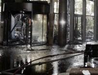 YANGIN FACİASI - Dubai'de yanan 63 katlı otelin içinden ilk fotoğraf