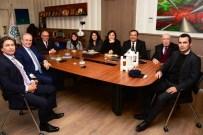 İBRAHIM AYBAR - 'Sokaktaki İlk Adımlar' İçin Başkan Eşkinat'ı Ziyaret Ettiler