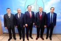 NUH ÇIMENTO - Başkan Karaosmanoğlu, ''Üretim, Emek Ve Zekanın Ürünüdür''