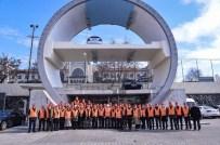 KARAYOLU TÜNELİ - Başkan Türkmen, Avrasya Tüneli Projesi'ni Yerinde İnceledi